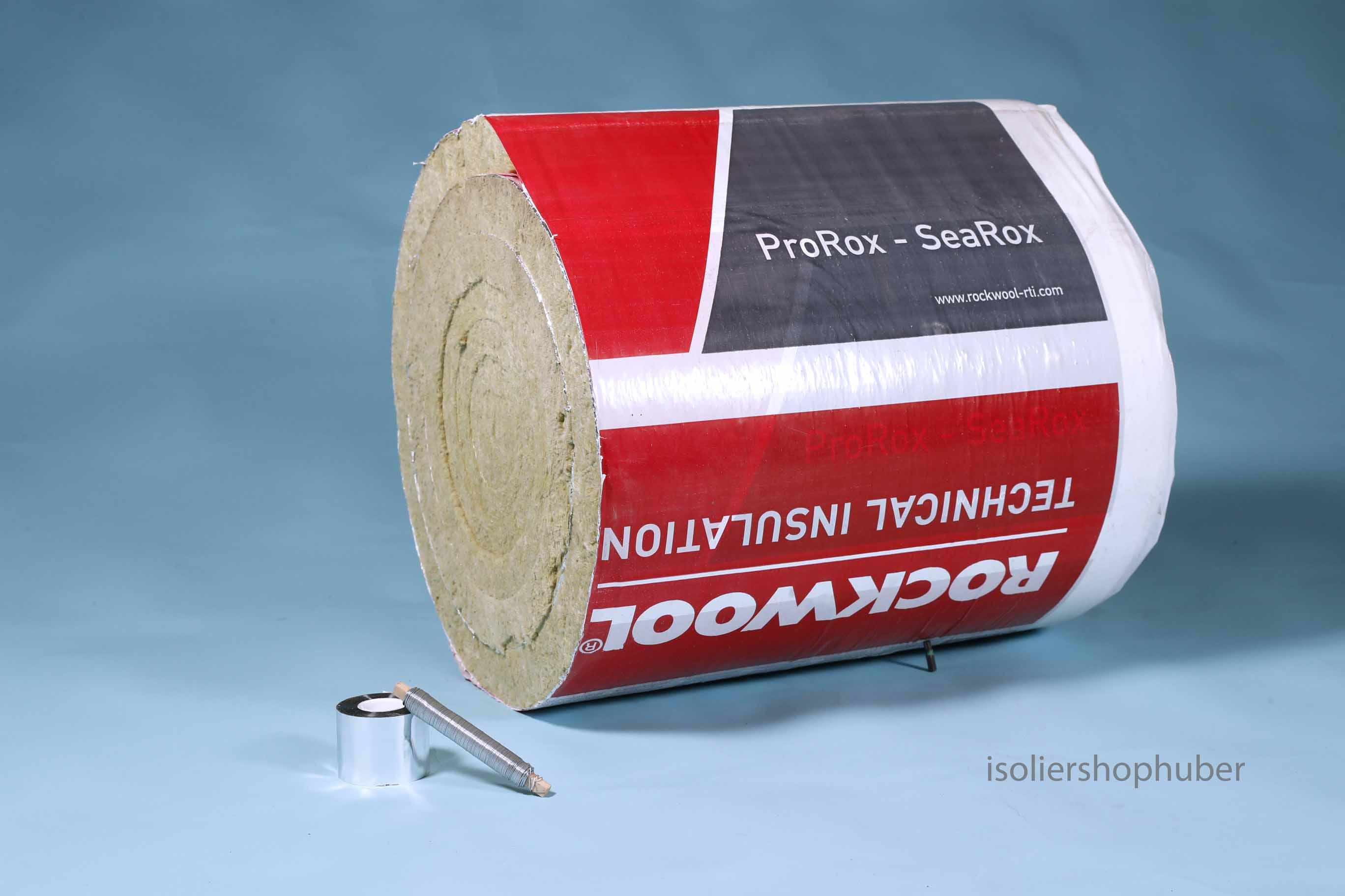 isoliershophuber 5 0 m 50 mm rauchrohr isolierung set rockwoool prorox aus steinwolle. Black Bedroom Furniture Sets. Home Design Ideas